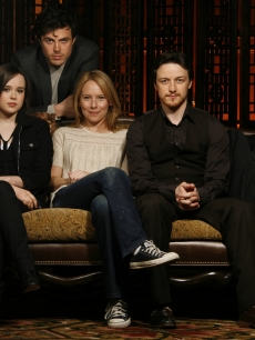 Ellen Page, Casey Affleck, Amy Ryan, James McAvoy and Marion Cotillard in Santa Barbara, CA