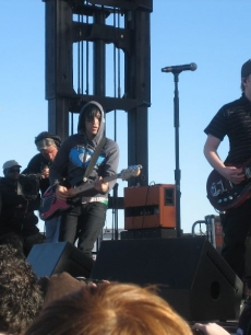 Following the celeb game, Fall Out Boy rocked the house in Phoenix!