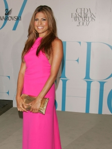 Eva Mendes in Calvin Klein at The CFDA Fashion Awards