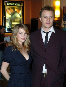 Heath Ledger &amp; Michelle Williams, January 2006, Melbourne, Australia