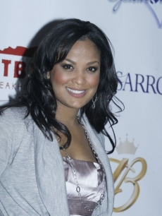 Laila Ali hits the Gridiron Glamour red carpet