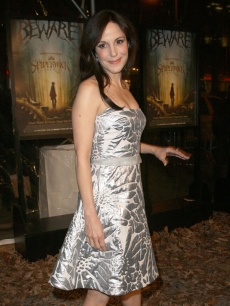 Mary-Louise Parker arrives for the special screening of 'The Spiderwick Chronicles' in NY