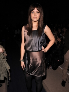 Mandy Moore attends the Ports 1961 2008 Fall Collection during NY Fashion Week