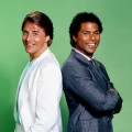 Don Johnson & Phillip Michael Thomas in 'Miami Vice'