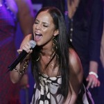 Alicia Keys performs at the Clive Davis pre-Grammy party