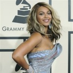 Beyonce arrives at the 50th Annual Grammy Awards