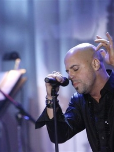Chris Daughtry rocks out at the Clive Davis pre-Grammy party