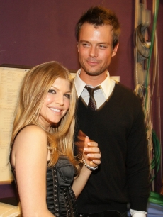 Fergie and Josh Duhamel in Feb. 2007
