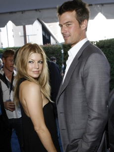 Fergie and Josh Duhamel at the 2007 MTV Movie Awards
