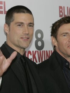 Matthew Fox and Dennis Quaid in Berlin for &#039;Vantage Point&#039; 