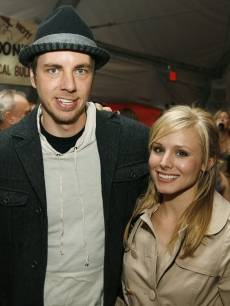 Dax Shepard and Kristen Bell at 'Semi-Pro' in NY