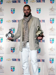 Ricky Martin is a big winner at the Premio Lo Nuestro Latin Music Awards in Miami