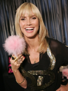 Heidi Klum at the Victoria's Secret Reveals Hollywood's Red Carpet Secrets event in LA