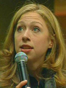 Chelsea Clinton on the college campaign trail