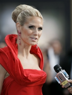 Heidi Klum at the 2008 Oscars, Los Angeles