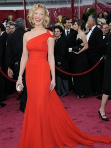 Katherine Heigl steps out for the 2008 Oscars