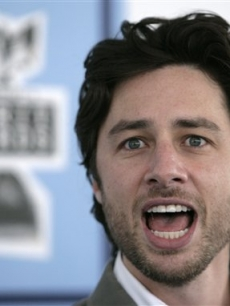 Zach Braff arrives to the 2008 Independent Spirit Awards