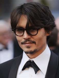 Best Actor nominee Johnny Depp