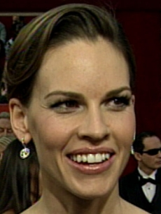 Hilary Swank chats with Access on the Oscars red carpet