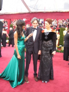 Shaun interviews Daniel Day-Lewis shortly before his Best Actor Oscar win