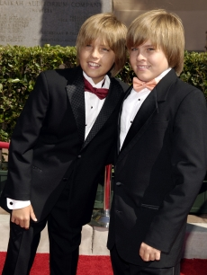 Kid star twins Dylan & Cole Sprouse, September 8, 2007