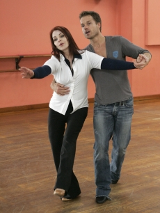 Priscilla Presley is paired with Louis van Amstel, who returns for his fourth season