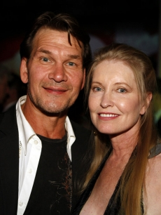 Patrick Swayze and wife Lisa Niemi in Las Vegas in 2007