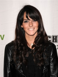 Ali Lohan arrives at a screening of We TV's 'High School Confidential'