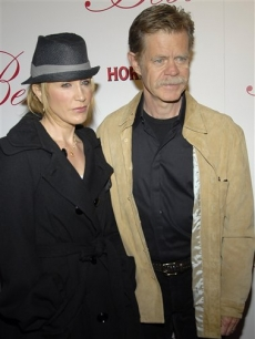 Felicity Huffman and husband William H. Macy at the grand opening of Beso restaurant