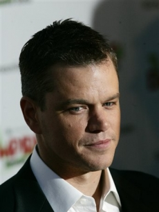 Matt Damon arrives for the Empire Film Awards in London
