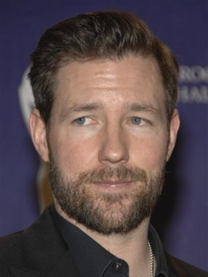 Actor Ed Burns at the Rock & Roll Hall of Fame induction ceremony