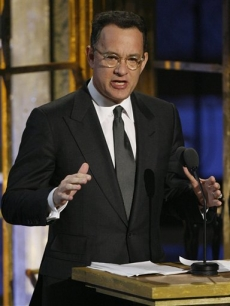 Tom Hanks inducts the Dave Clark Five into the Rock and Roll Hall of Fame