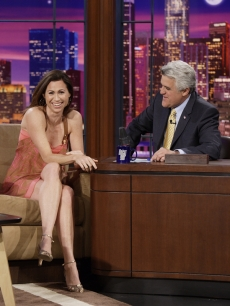 Minnie Driver chats with Jay Leno (March 2008)