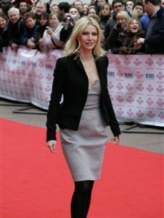 Prince's Trust Ambassador Gwyneth Paltrow arrives for the 'Celebrate Success' Awards ceremony