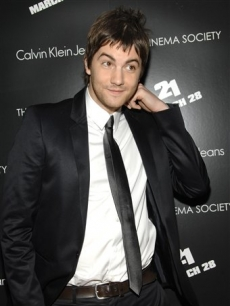 Jim Sturgess attends a Cinema Society screening of '21' at the IFC Center