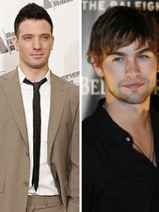 JC Chasez and Chace Crawford