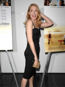 Patricia Clarkson at a screening of 'The Visitor' at the Museum of Modern Art
