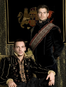 Jonathan Rhys Meyers and Henry Cavill in Showtime's 'The Tudors'
