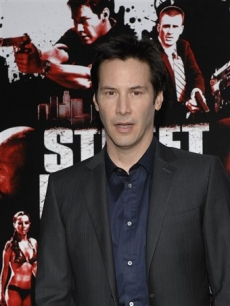 Keanu Reeves at the premiere of &#8216;Street Kings&#8217;