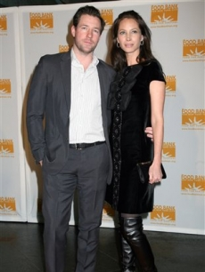 Ed Burns and Christy Turlington attend the Food Bank for NYC Can-Do dinner