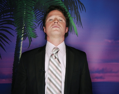 Access Hollywood's Billy Bush at ShoWest 2008 in Las Vegas