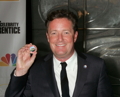 Piers Morgan, winner of 'Celebrity Apprentice'