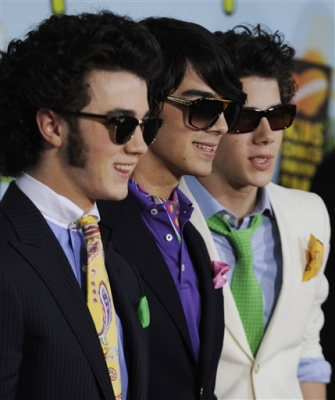 The Jonas Brothers at the Kids' Choice Awards