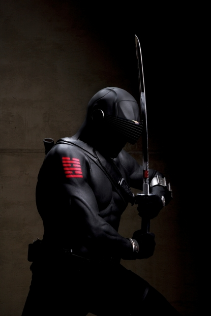 Ray Park plays Snake Eyes in 'G.I. Joe'