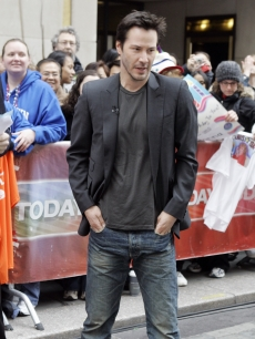Keanu Reeves appears outside of &#8216;Today&#8217; in New York
