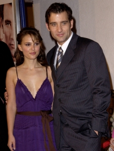 Costars Clive Owen and Natalie Portman at the Los Angeles premiere of their drama 'Closer'