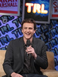 Jason Segel makes an appearance at MTV Studio&#8217;s for &#8216;TRL&#8217; 