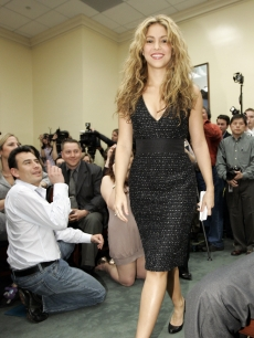 Shakira on Capitol Hill for Global Campaign for Education Action Week