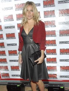 Sienna Miller arrives to the NME Music Awards in LA