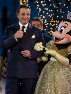 Andy Garcia and Minnie Mouse celebrate a massive quinceanera party at Disneyland
